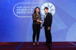 Susan Maceda from Bank of Singapore receives the Best Private Bank - Philippines International