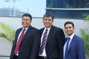 IIFL Private Wealth co-founders (from left) Amit Shah, Managing Partner; Karan Bhagat, Chief Executive Officer and; Yatin Shah, Managing Partner