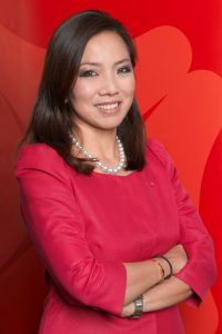 Tan Su Shan, Group Head, Consumer Banking and Wealth Management, DBS