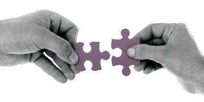 puzzle, M&A, merger, acquisition, hands, join